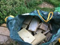 Free offcuts of wood - perfect for log burner