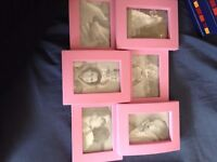 photo frames and mirror