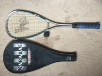 Squash Racket, Cover & Balls