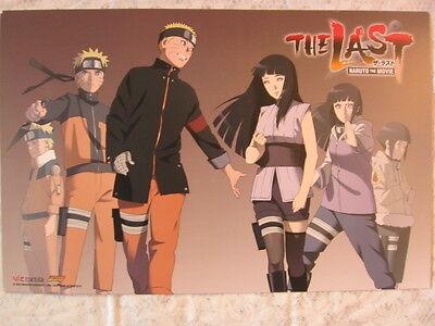NYCC 2015 Comic Con Naruto Shippuden Movie The Last Poster Hinata