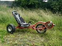 Berg pedal go kart- Red and Blue