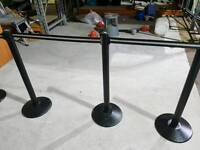 Tensile security barrier system