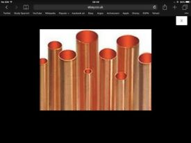 Copper pipe 15mm