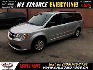 2011 Dodge Grand Caravan SE | STOW N' GO | CAPTAIN CHAIRS