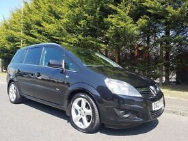 JULY 2010 VAUXHALL ZAFIRA SRI 1.8 16v 140BHP FULL VAUXHALL SERVICE HISTORY LOVELY EXAMPLE THOUGHOUT