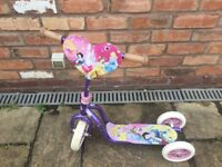 Princess 3 Wheel scooter