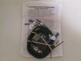 Brand new Uprated Headlamp Wiring Loom for Vw Mk2 Golf / Mk2 Jetta