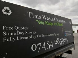Waste and Rubbish Clearance & Removal / Recycling for your Home or Business