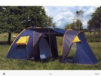 Easy Camp 6 Man Dome Tunnel Tent.