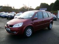 RENAULT GRAND SCENIC 1.6 VVT Dynamique 7 SEAT TWO LADY OWNERS F.S.H (red) 2008