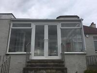 Conservatory and roof complete for sale