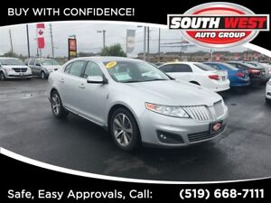 2009 Lincoln MKS LEATHER, ROOF, LOADED, AWD