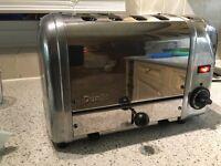 Dualit 4 slice toaster
