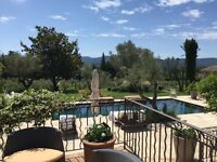 Summer season in the glorious South of France looking after private villa - own accommodation