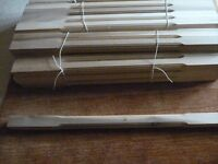 Hemlock staircase spindles and Newel post NEW & UNUSED