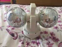 Zeon double disco ball