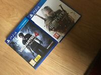 The Witcher 3 + Uncharted 4 PS4