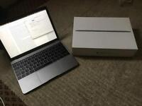 MacBook 2016 m5 512GB SSD 12 inch super portable and light