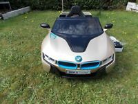BMW i8 Concept Ride on Car ( Remote Included )