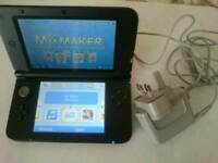 3ds xl charger and card