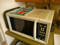Talking Microwave Oven (as new)