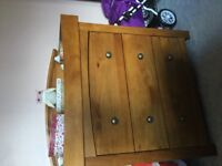 Silver cross dresser and changing unit. REDUCED BY £100