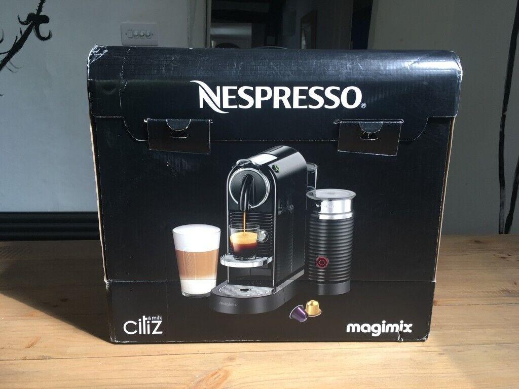 New Nespresso Citiz Milk Coffee Machine In Stansted Essex Gumtree