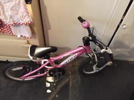 Carrera girls mountain bike - aluminium frame