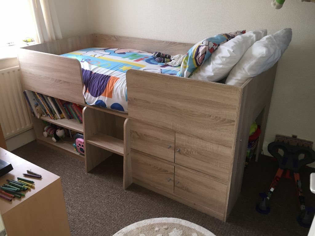 next childrens compton cabin bed must go today tomorrow. Black Bedroom Furniture Sets. Home Design Ideas