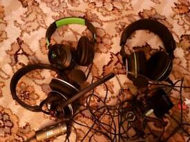 3 Turtle Beach Headsets PC/XBOX/PlayStation