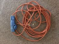 10 meter camping extension lead