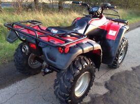 HONDA TRX 350 FOURTRAX 4x4 FOURMAN QUAD ATV FARM 420 300 350 500 250 Polaris