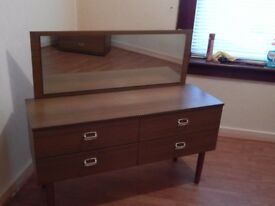 Dressing Table and 4 Drawer Unit
