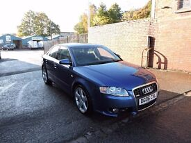 AUDI A4 B7 2.0 TDI S-LINE BLUE BREAKING SPARES PARTS SALVAGE