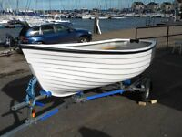 JURRA 12 FOOT DINGHY - BRAND NEW FROM THE BUILDER - FULL WARRANTY - UK WIDE DELIVERY