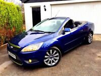 **1 PREV OWNER** 2009 FORD FOCUS CC-2 D BLUE 2.0 CONVERTIBLE DIESEL MANUAL