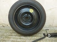 FOR SALE SPACESAVER CAR WHEEL & TYRE