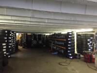New part worn tyres