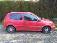 Vw polo spares or repairs