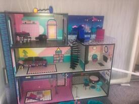 LOL dolls house £70