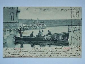 NAPOLI-pescatori-barca-pesca-vecchia-cartolina-65