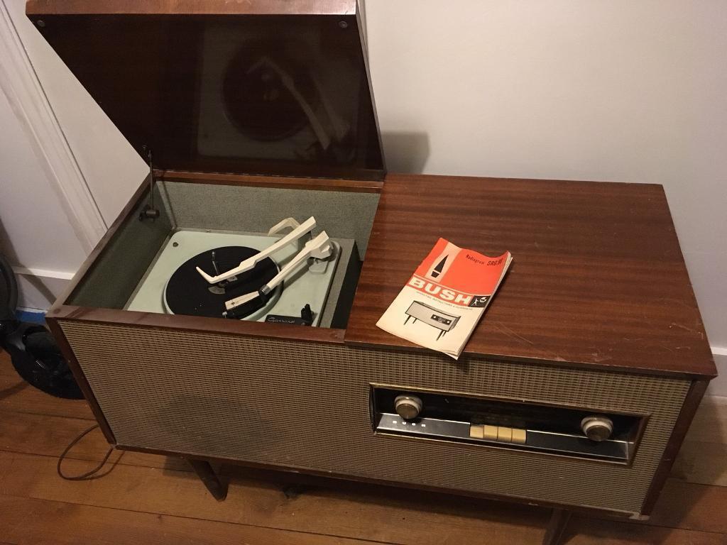 Retro 60s Bush Radiogram SRG 90