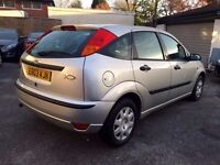2003 FORD FOCUS 1.4-GOOD TYRES,102000 GENUINE MILES,MOT 20-04-2017,BEAUTIFUL DRIVE,HPI CLEAR