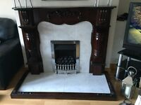 Mahongany fireplace surround for sale