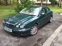 jaguar x type auto with sat nav