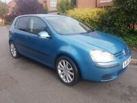 2006 VOLKSWAGEN GOLF 1.6 FSI S. 5 DOOR . PETROL. MANUAL