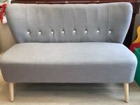 MADE 2 Seater Grey Sofa