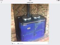 Aga.. 2 Oven blue