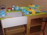 ELC Wooden Play kitchen & accessories