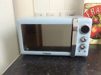 Swan microwave and toaster